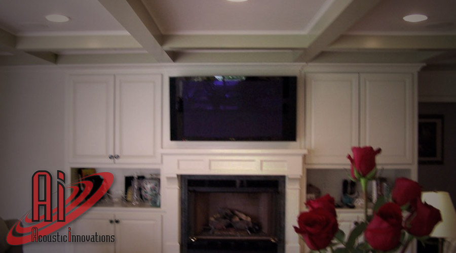 Acoustic Innovations Home Theater Installation
